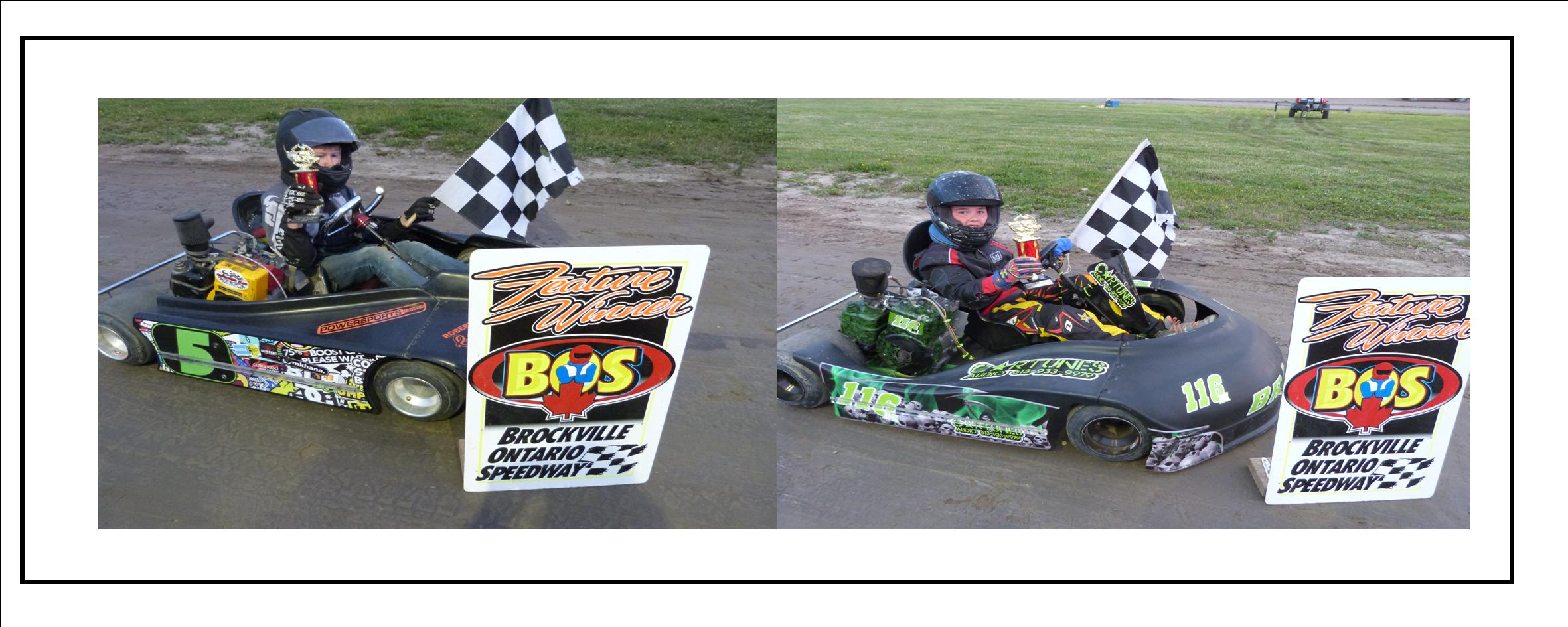6 DRIVERS WIN BACK TO BACK WHILE D'ALESSIO AND FREDERICKS SCORE 1ST WINS OF 2016 ON THE KART TRACK AT BROCKVILLE