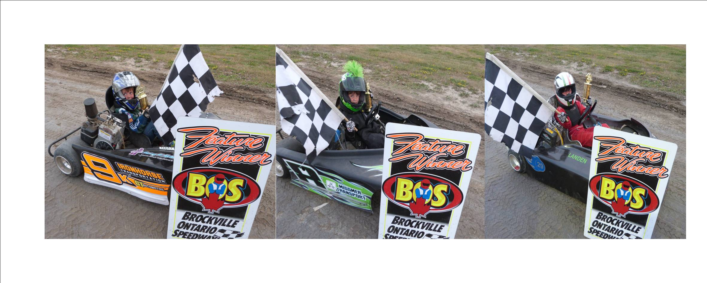 MOORE, REDDICK AND RENAUD CONTINUE HOT STREAKS WHILE ELLIOTT, SLINGER, BARKLEY, DRAPER AND DAVID CRACK THE WIN COLUMN AT BROCKVILLE