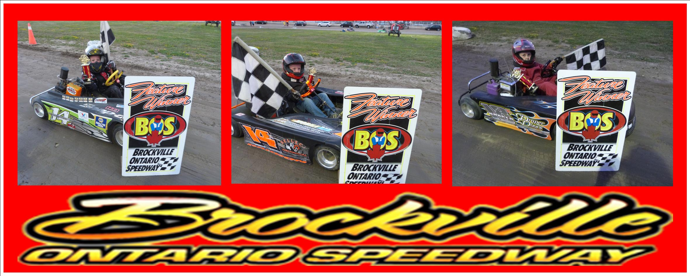 AIDEN BERRY, BARRON GREER, KALEN DRAPER, TRENT WALLACE, ZACK RENAUD, DYLAN TINKLER, BRIAN CLARK AND MATHIEU AUBIN SCORE BIG WINS ON THE BULLRING AT BROCKVILLE