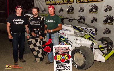 Ryan Arbuthnot Bags Second 358 Mod Checkered Flag at Brockville