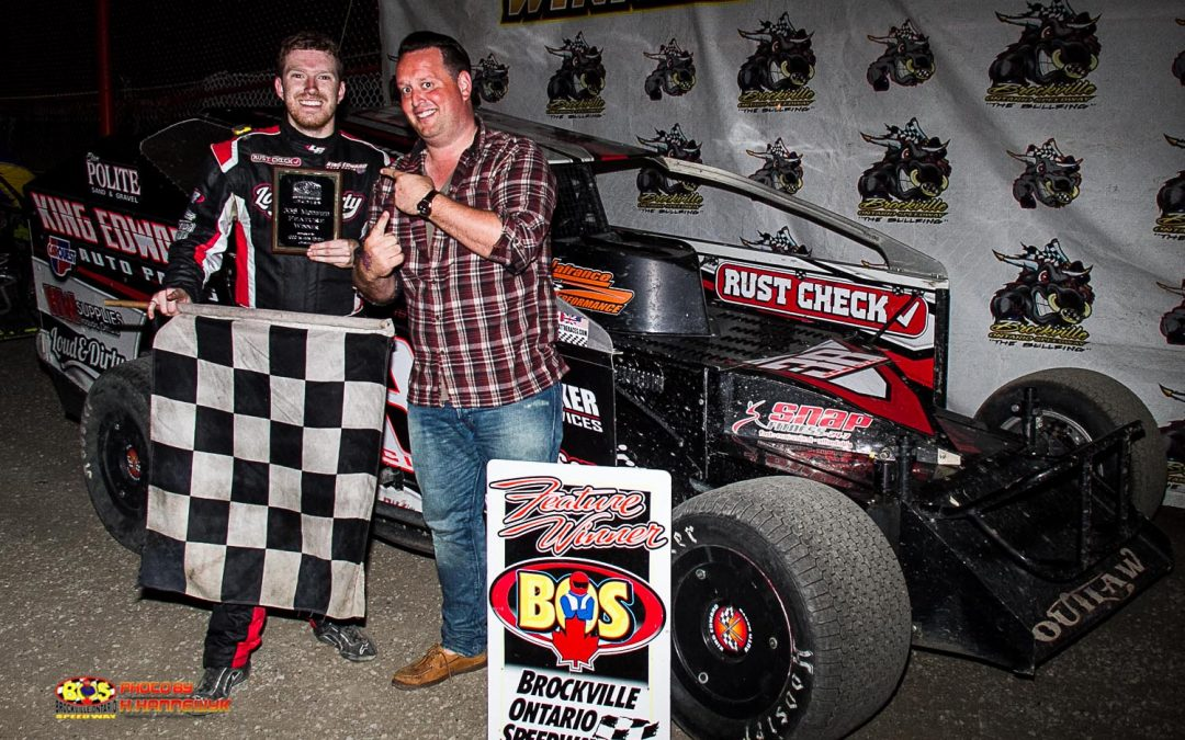 Luke Whittaker Back In Brockville Victory Lane