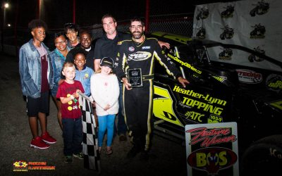 Danny O'Brien Makes Return Trip To Brockville Victory Lane