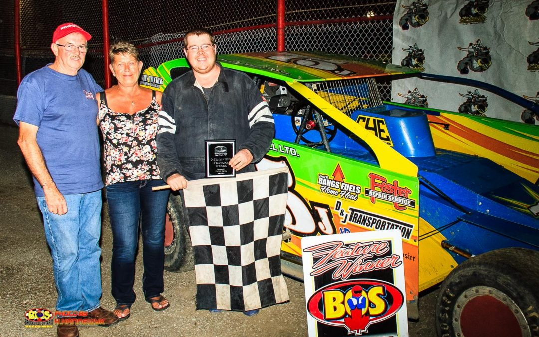 Banks Back In Victory Lane At Brockville