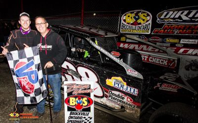 Whitteker Wins 358 Modified Main At Brockville Fall Nationals; Steve Bernard Crowned DIRTcar 358 Modified Champion
