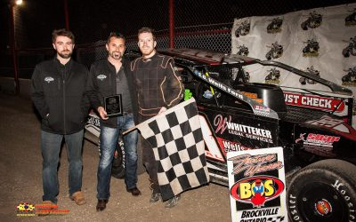 Luke Whitteker Completes Comeback story with Ogilvie's Series Opening Day Win at Brockville
