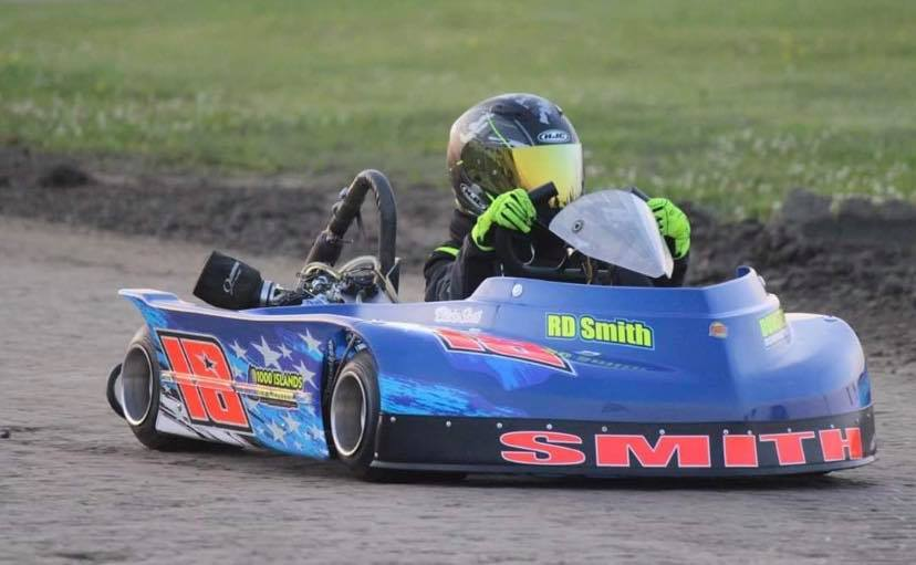 Moore Doubles Down for a Second Straight Week while Smith Crawford Stacey and Bailey claim checkers at The BOS Kart Track
