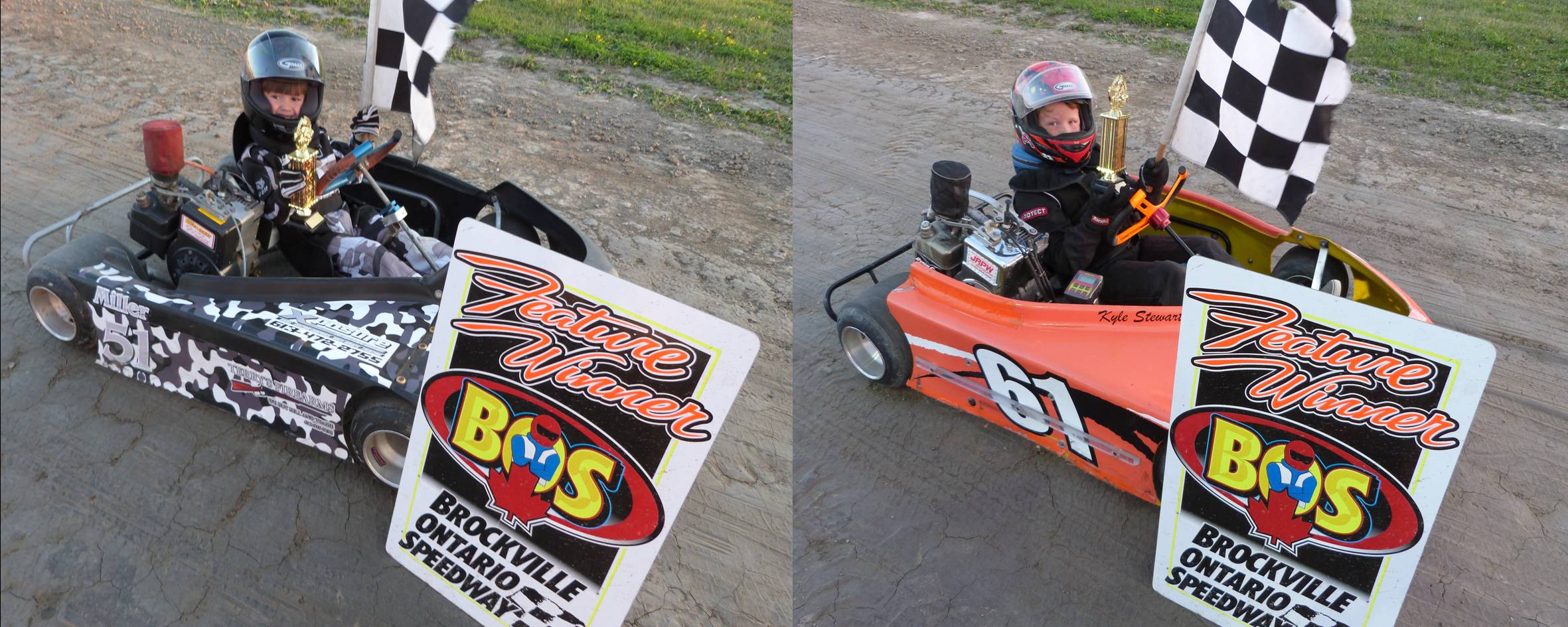 GABE MILLER AND KYLE STEWART SCORE FIRST CHECKERED FLAGS OF 2016 AT BROCKVILLE
