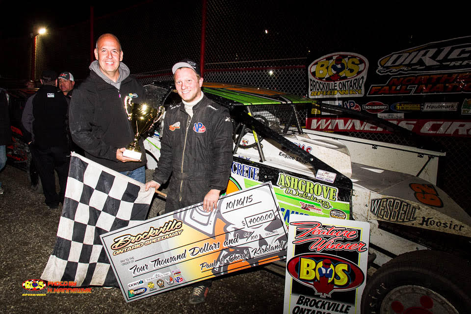 ERICK RUDOLPH SWEEPS AT THE FALL NATIONALS WITH SUPER DIRTCAR SERIES WIN AT BROCKVILLE