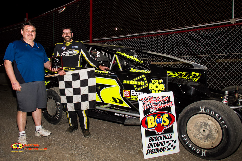"Danny O'Brien Shows Everyone Who's ""BOS"" With Opening Day Win at Brockville"