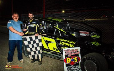 Danny O'Brien Scores Caution Free 358 Modified Season Opener At Brockville