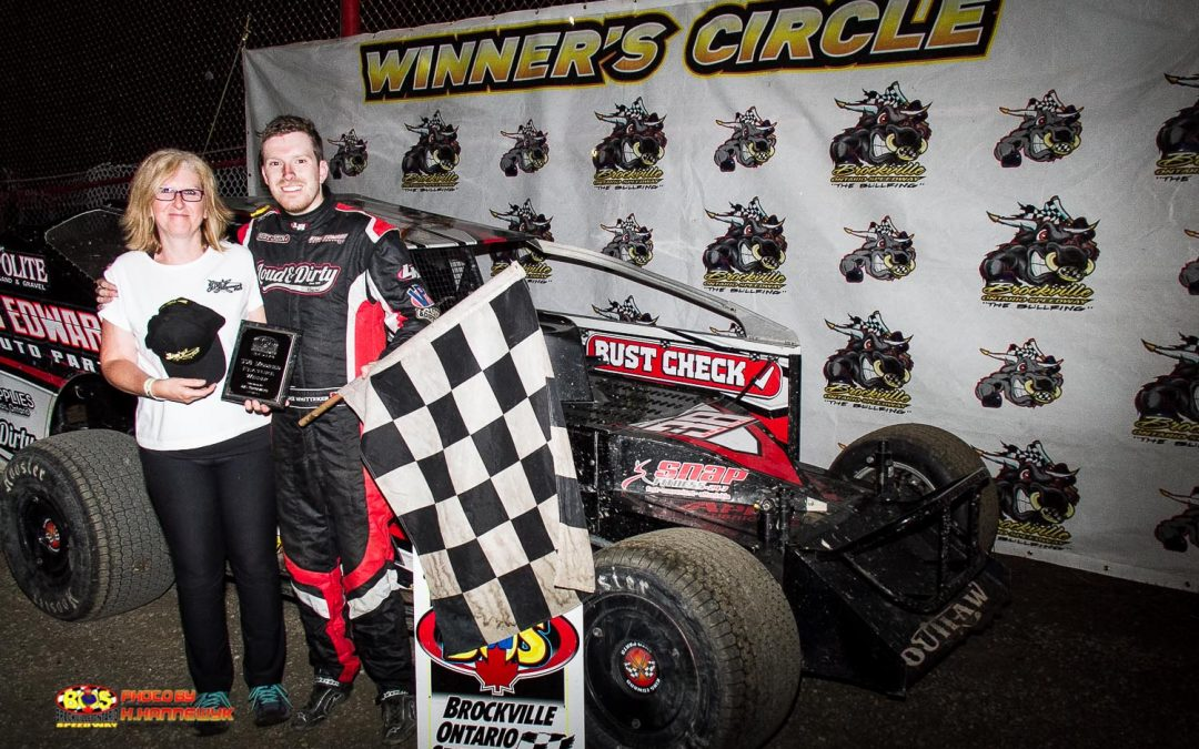 Luke Whitteker Captures Checkers At Brockville