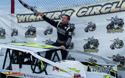 Ryan Arbuthnot Dominates Brockville 358 Modified Field for a Fourth Time