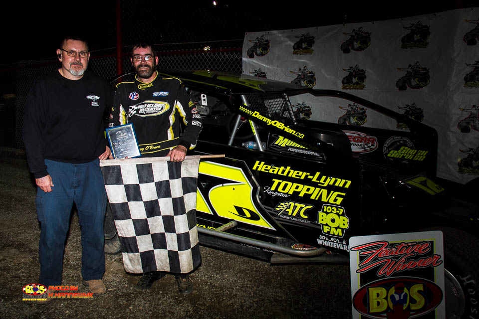 Danny O'Brien Stays Perfect With Ogilvie's Series Victory at Brockville