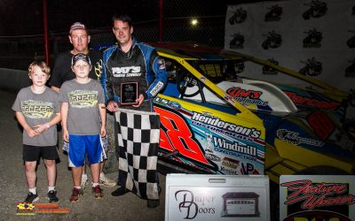 Tim O'Brien Ends The Drought with 358 Modified Victory at Brockville