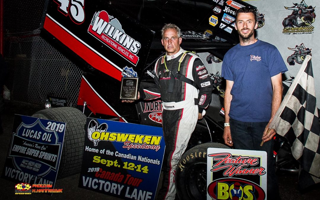 The Cobra Finally Strikes, Chuck Hebing Gets First Lucas Oil ESS Victory at Brockville