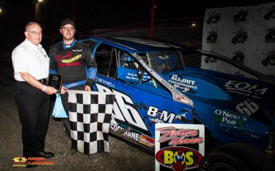 Kyle Dingwall Dominantes 358 Modified Field at Brockville