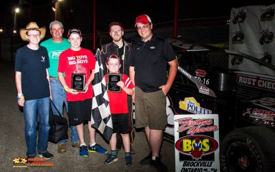 Whitteker Finds Keys To Brockville Victory Lane With Ogilvie's Series Win