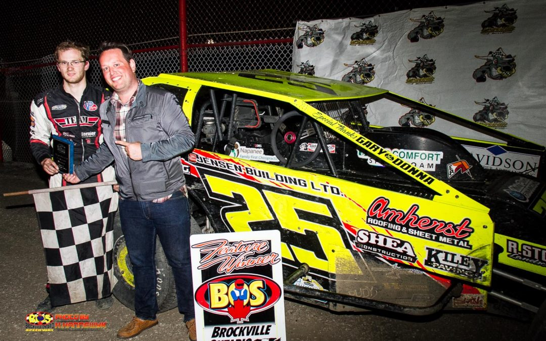 Herrington Hustles To Checkers At Brockville
