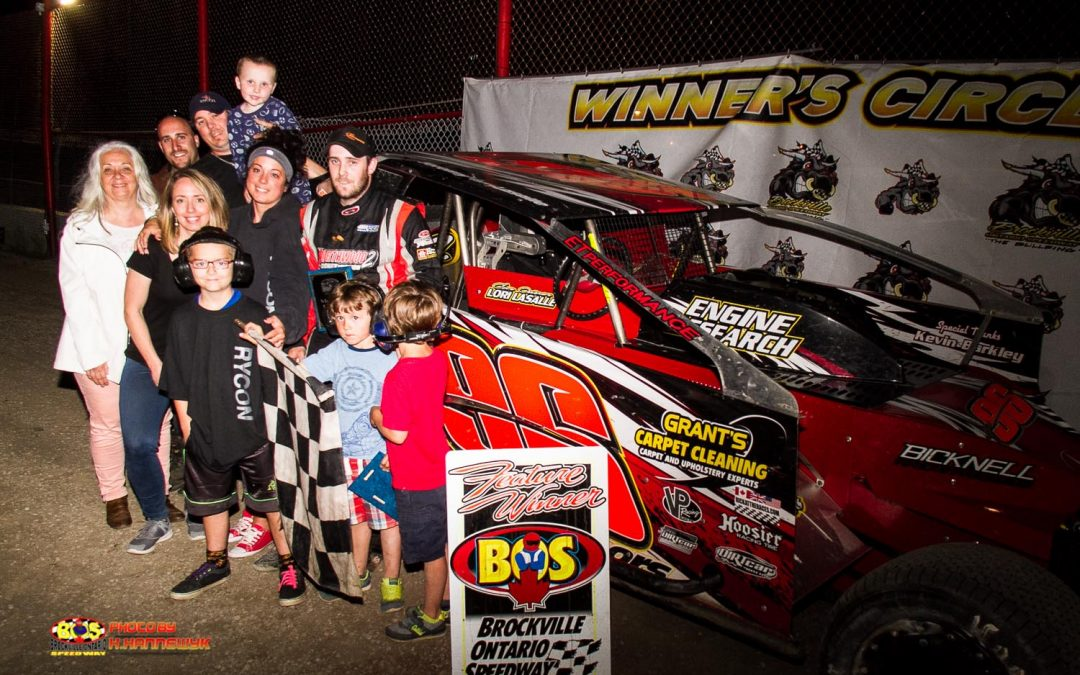 A Long Time Coming: Jeremy LaSalle Notches First 358 Modified Victory