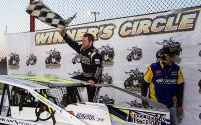 Ryan Arbuthnot Survives Late Restart For First 358 Modified Triumph of 2018