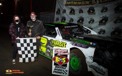 Doug O'Blenis, Nick Sheridan and Adam Turner Begin Dirt Outlaw Apparel Fall Nationals Weekend with Huge Wins at Brockville