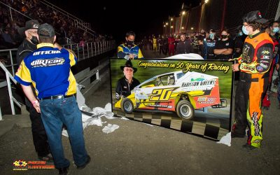 Stock Car Steve Bilow Honored for 50th Year During Championship Night at Brockville